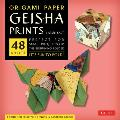 Origami Paper - Geisha Prints - Large 8 1/4 - 48 Sheets: Tuttle Origami Paper: High-Quality Origami Sheets Printed with 8 Different Designs: Instruct