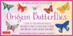 Origami Butterflies Kit: The Lafosse Butterfly Design System