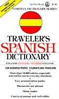 Travelers Spanish Dictionary English Spanish Spanish English