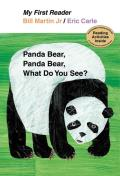 Panda Bear Panda Bear What Do You See My First Reader