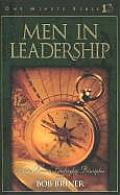 Men in Leadership: Daily Devotions to Guide Today's Leading Men (One Minute Bible)