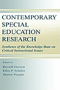 Contemporary Special Education CL