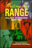 Writing The Range Race Class & Culture