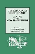 Genealogical Dictionary of Maine & New Hampshire
