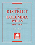 Index to District of Columbia Wills, 1801-1920