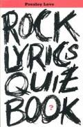 Rock Lyrics Quiz Book