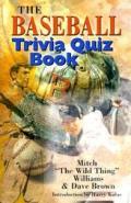 Baseball Trivia Quiz Book