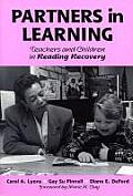 Partners in Learning Teachers & Children in Reading Recovery