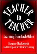 Teacher to Teacher Learner from Each Other