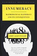 Innumeracy Mathematical Illiteracy & Its