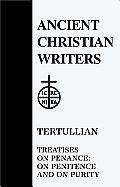 Tertullian, Treatise on Penance: On Penitence & on Purity