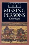 Missing Persons & Other Essays