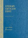 Literary Criticism Index: 2nd Ed.