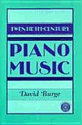 Twentieth Century Piano Music