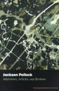 Jackson Pollock Interviews Articles & Reviews