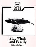 Blue Whale & Family Carving Sea Life