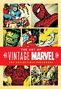 Art of Vintage Marvel 100 Collectible Postcards