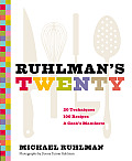 Ruhlmans Twenty 20 Techniques 100 Recipes A Cooks Manifesto