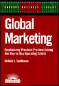 Global Marketing Barrons Business Librar