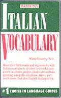 Barrons Italian Vocabulary