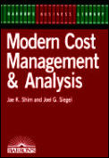 Modern Cost Management & Analysis