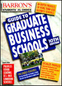 Barrons Guide To Graduate Business Schools