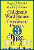 Childrens Word Games & Crossword Puzzles