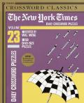 New York Times Daily Crossword Puzzles Volume 23