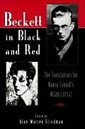 Beckett in Black & Red The Translations for Nancy Cunards Negro 1934