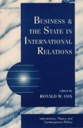 Business & The State In International Re