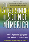 Establishment of Science in America 150 Years of the American Association for the Advancement of Science