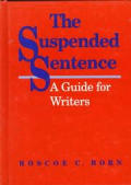 Suspended Sentence A Guide For Wri