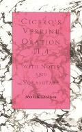 Ciceros Verrine Oration II.4 With Notes & Vocabulary