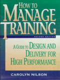 How To Manage Training 2nd Edition