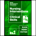 Nursing Interventions and Clinical Skills: Checklists