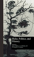 Wellesley Studies in Critical Theory, Literary History and Culture #17: Blake, Politics, and History