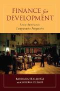 Finance for Development: Latin America in Comparative Perspective