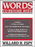 Words To Rhyme With For Poets & Song