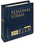 Personal Forms on File; 1999 Edition