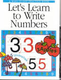 Lets Learn To Write Numbers A Wipe It