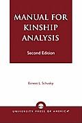 Manual For Kinship Analysis 2nd Edition