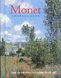 Monet Postcard Book #1: Monet Address Book