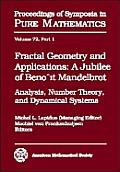 Fractal Geometry & Applications a Jubile