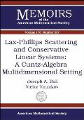 Lax-Phillips scattering and conservative linear systems; a Cuntz-algebra multidimensional setting