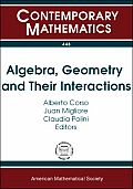 Algebra, Geometry and their Interactions