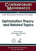 Optimization theory and related topics; proceedings