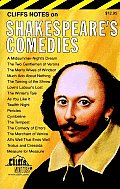 Cliffs Notes Shakespeares Comedies