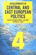 Developments in Central & East European Politics