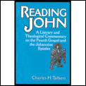 Reading John A Literary & Theological Co