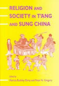 Religion & Society In Tang & Sung China